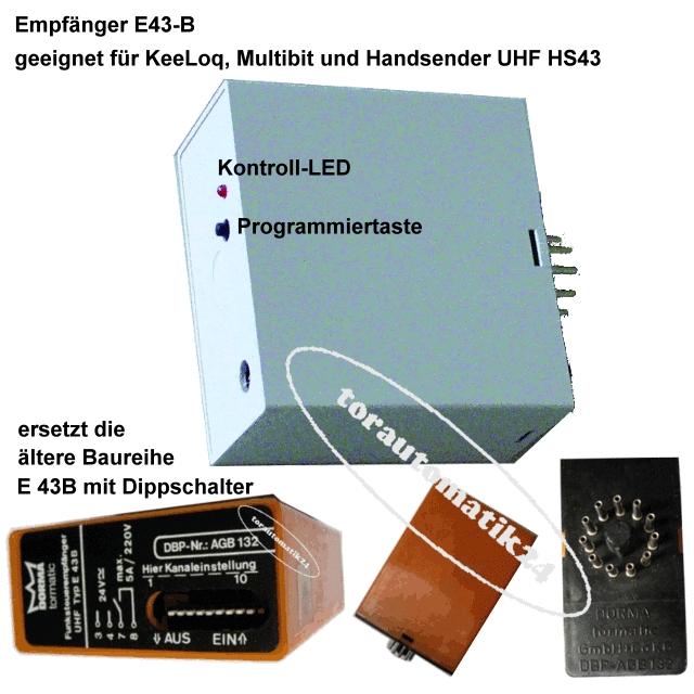 tormatic Dorma Empfänger E43-B