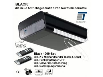 Black 1000 Novoferm tormatic Garagentorantrieb