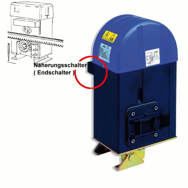 Endschalter Näherungsschalter Schiebetorantrieb tormatic STA 360 / Aprimatic AT80, AT83, AT85
