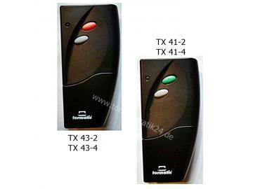 tormatic TX-Funk TX43, TX41 Handsender