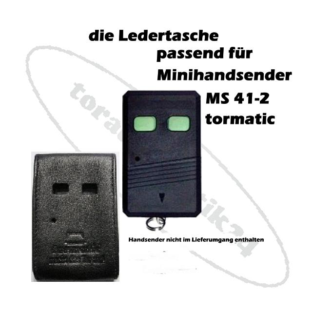 tormatic MS 41-2 Ledertasche Handsender