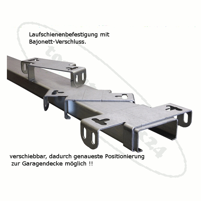 tormatic ZS / BD 30 Laufschiene Zahnriemen