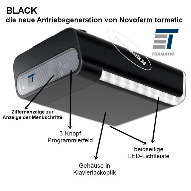 Black 1000 Ersatz der tormatic GTA 630, 550, 555, GTA 703