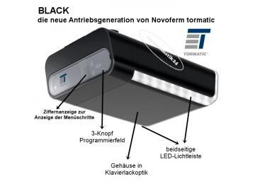 Black 600 Ersatz der tormatic GTA 540, GTA 610, GTA 615, GTA 601, GTA 701