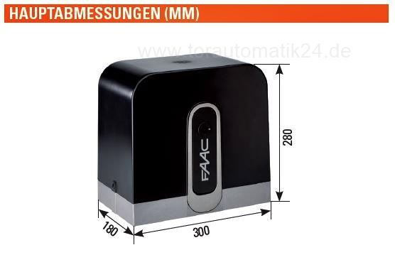 Faac C720 Cyclo Kit 24 V Schiebetorantriebset