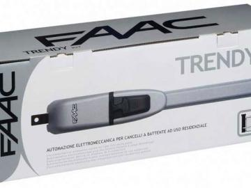 Faac Trendy Kit Drehtorantriebe 24V-Ausführung