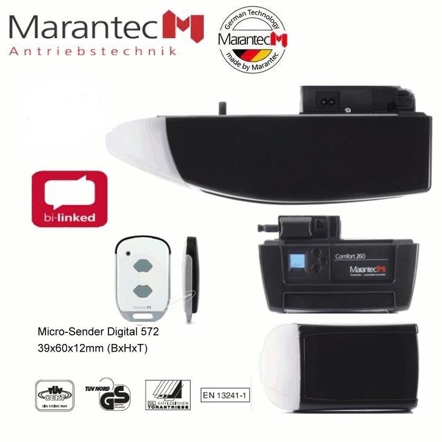Marantec Comfort 260 Garagentorantrieb mit Schiene SZ 11-SL