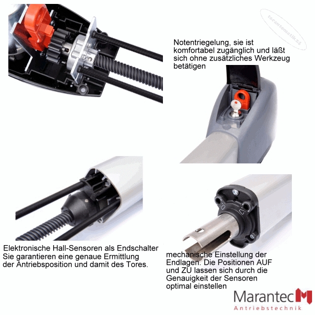 Marantec Comfort 515 Drehtorantrieb-Set