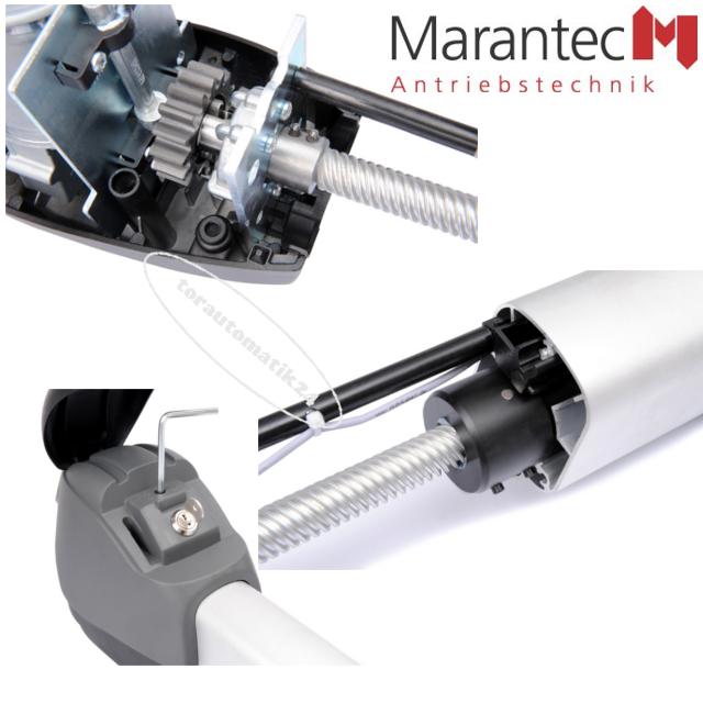 Marantec Comfort 525-L Drehtorantrieb-Set zweiflügelig