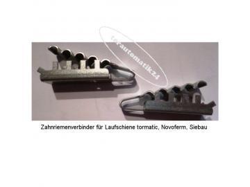 Zahnriemenverbinder Novoferm tormatic Laufschienen