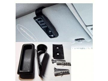 tormatic Black Remote Wand-/Sonnenblendenhalter