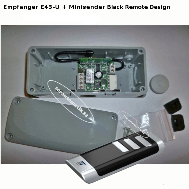 tormatic Novoferm E43-U Empfänger Funkumrüstung