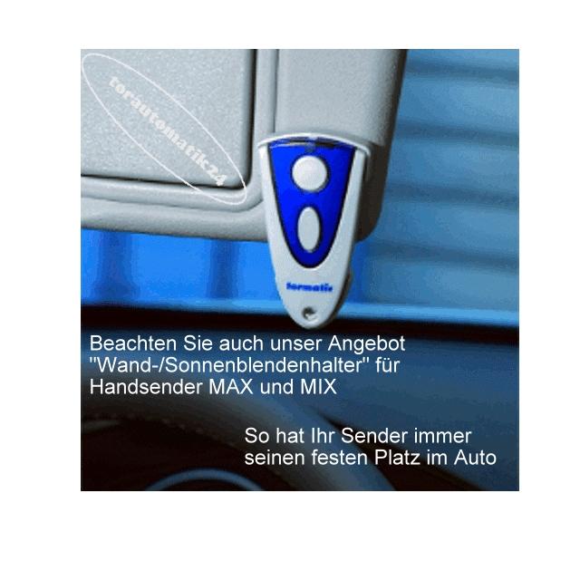tormatic MAX 43-2 Handsender, Novotron 502 Novoferm